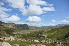 Ladscape merveilleux de montagne Photos libres de droits