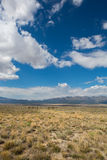 Ladscape on the Nevada highway 50 Royalty Free Stock Photography