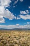 Ladscape sulla strada principale 50 del Nevada Fotografia Stock Libera da Diritti