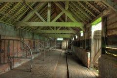 Ladugård England Arkivbild