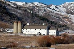 Ladugård: Park City Utah Fotografering för Bildbyråer