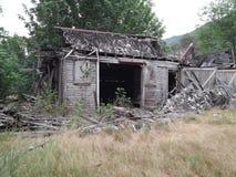 ladugården dilapidated Royaltyfria Foton