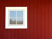 ladugårdfönster Arkivfoto