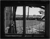 Ladugårdfönster Arkivbild