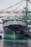 Ladung-Frachter stockfoto