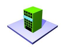 Ladung-Platz ein Logistik-Versorgungskette-Diagramm Objec Lizenzfreie Stockbilder