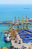 Ladung und Verschiffen Stockbilder