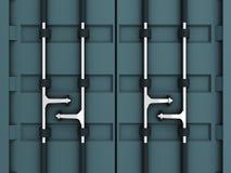 Ladungbehälter Lizenzfreie Stockbilder