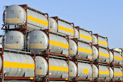 Ladungbehälter für Nahrungsmittel Lizenzfreie Stockfotografie