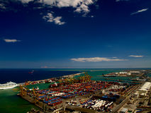 Ladunghafen Lizenzfreies Stockfoto
