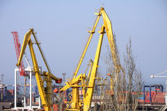 Ladungkanal in Odessa Lizenzfreie Stockfotos