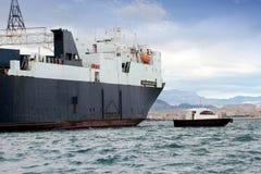 Ladungsschiff Stockbild