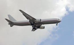 Ladungstrahlenflugzeug stockfotos
