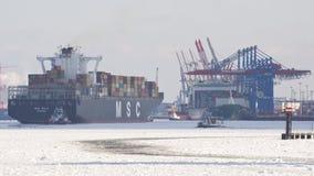 Ladungverschiffen Stockbild