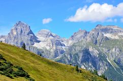 Ladurns dolina Obraz Royalty Free