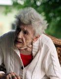 Lady-3 anziano Immagini Stock Libere da Diritti