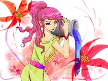 lady ilustracja wektor