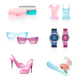 Lady accessories Royalty Free Stock Photo
