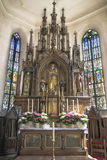 Lady Altar of ancient bavarian church Stock Image