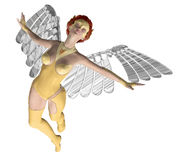 Lady Angel Royalty Free Stock Photos