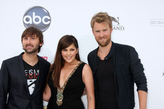 Lady Antebellum Royalty Free Stock Photo