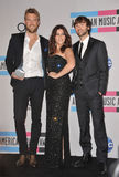 Lady Antebellum, Dave Haywood, Charles Kelley, Hillary Scott Royalty Free Stock Image