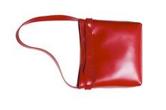 Lady bag. Stylish ladies handbag against the white background Stock Image