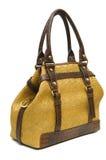 Lady bag. Stylish ladies handbag against the white background Stock Images