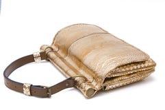 Lady bag. Stylish ladies handbag against the white background Royalty Free Stock Photos