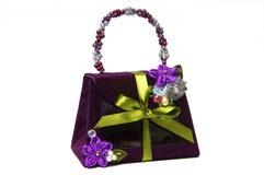 Lady bag. Stylish ladies handbag against the white background Stock Photo