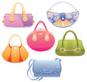 Lady bags. Stock Photos