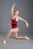 Lady ballet dancer Royalty Free Stock Photo