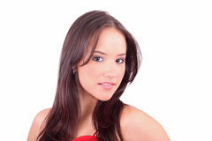 Lady beautyfull look Stock Photos