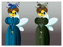 Lady Bee Stock Photos