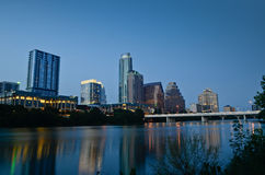 Lady Bird Lake at Austin Texas Royalty Free Stock Photography