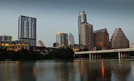 Lady Bird Lake at Austin Texas Stock Photography