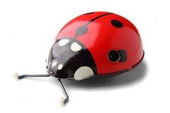 Lady Bird (old Toy) Royalty Free Stock Photography