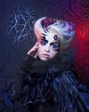 Lady in black. Stock Photo