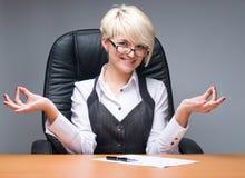 Lady-boss Royalty Free Stock Image