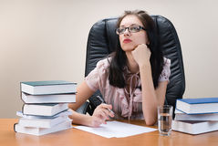 Lady-boss Royalty Free Stock Images