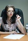 Lady-boss Stock Photo