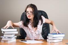 Lady-boss Stock Image