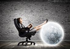 Lady boss Stock Image