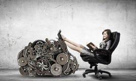 Lady boss Stock Photos