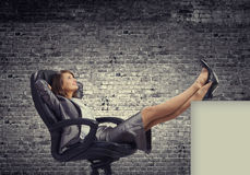 Lady boss Stock Images