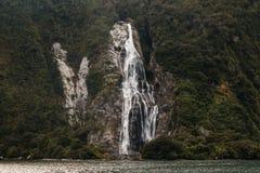 Lady Bowen falls, Milford Sound Stock Photography