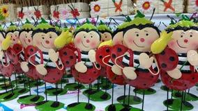 Lady bug decoration Stock Photography