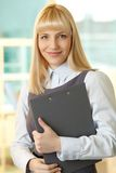 Lady in business Royalty Free Stock Image