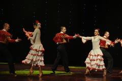 The lady of the Camellias-Spanish flamenco-the Austria's world Dance Stock Photo