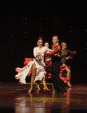 The lady of the Camellias-Spanish flamenco-the Austria's world Dance Stock Photos